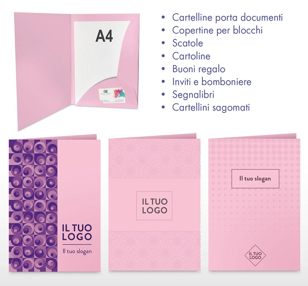 Offerta cartoncino rosa